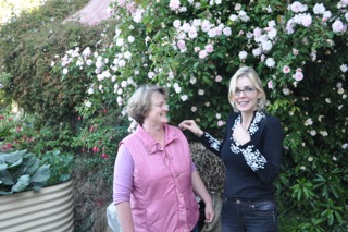 Sara and me sharing a joke, nonsuch