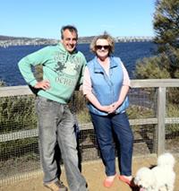 Stephen and Sara Cornelian Bay